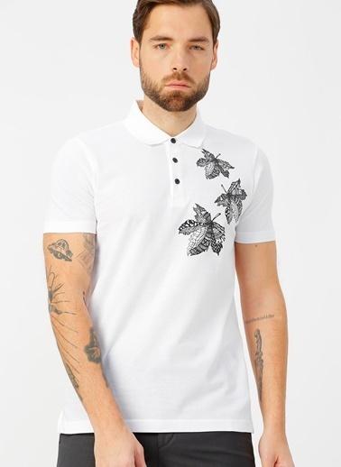Kip Tişört Beyaz